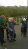 Rev Margery Stanlake on her zipwire challenge for Project 49