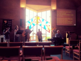 July 2014, Preparing for worshipo, Roger Jones Weekend