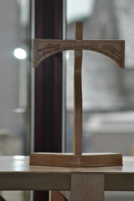 June 2015, A close up of the cross